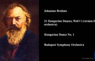 Johannes Brahms, 21 Hungarian Dances, WoO 1 (version for orchestra), Hungarian Dance No. 1
